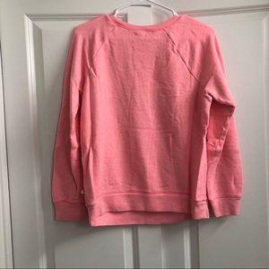 Victoria's Secret Tops - Pink Victoria's Secret Pink Kiss Sweatshirt